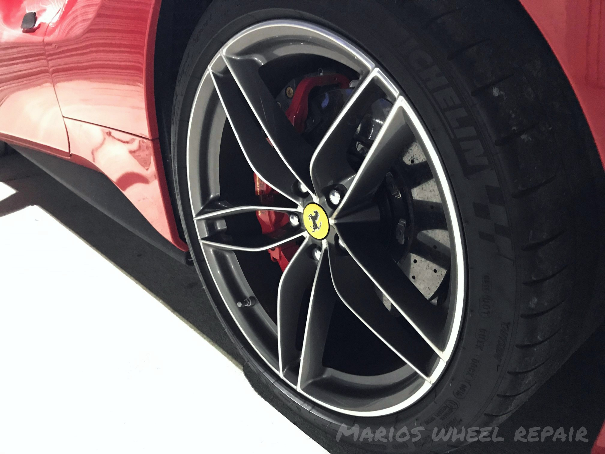 Diamond cutting is a precise process which takes much longer than normal alloy wheel refurbishment and can only be done in a number of times as a ridiculous amount of alloy would eventually be fade away.