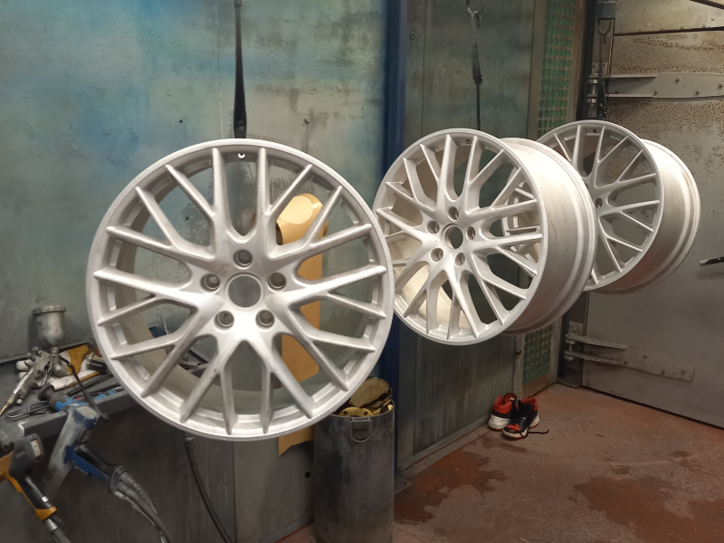 Silver Alloy Rims